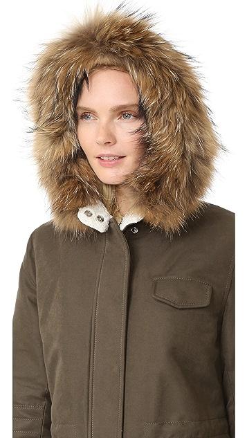 Doma Fur Trimmed Hooded Parka