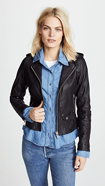 Doma Denim Combo Jacket