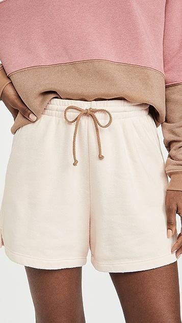 DONNI Vintage Fleece Shorts