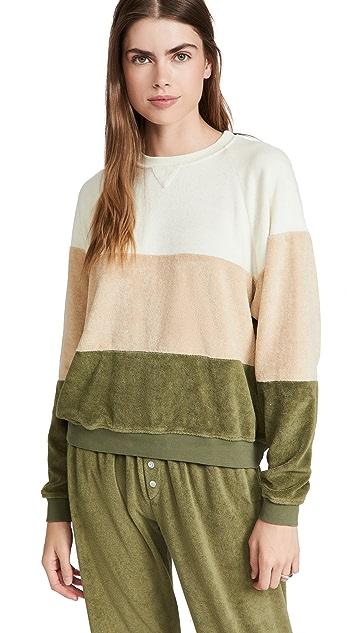 DONNI Terry Tri-Crew Sweatshirt