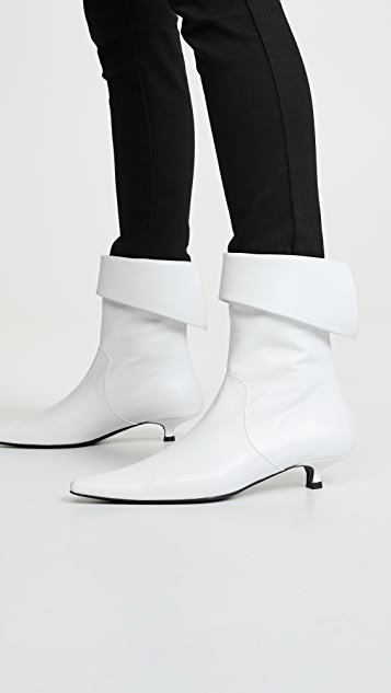 Dorateymur Crucified Ankle Boots