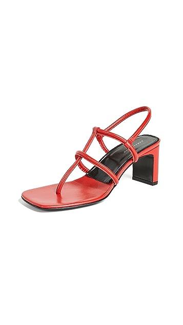 Dorateymur Thong Heeled Sandals