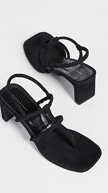 Dorateymur Thong Heeled Sandals