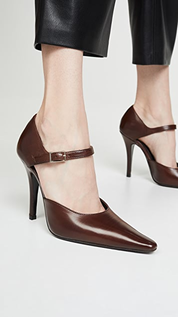 Dorateymur Groupie Ankle Strap Pumps