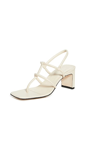 Dorateymur Heeled Thong Sandals