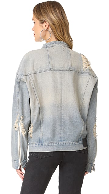 Daniel Patrick Oversized Denim Jacket