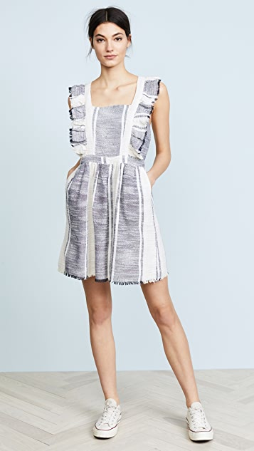 dRA Malibu Dress - Canal du Midi Stripe