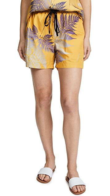 Double Rainbouu Gold Class Night Swim Shorts