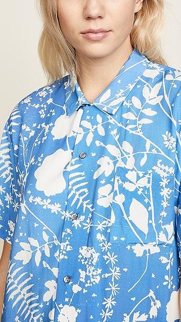 Double Rainbouu Dream Fields Short Sleeve Hawaiian Shirt