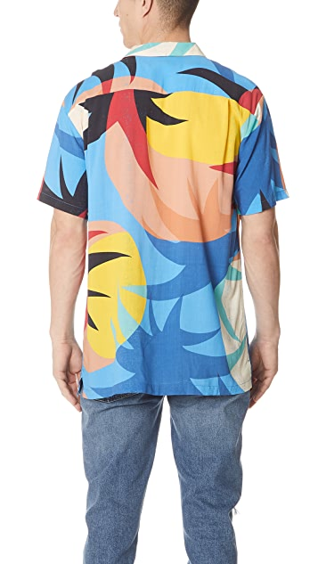 Double Rainbouu Space Chakra Hawaiian Shirt
