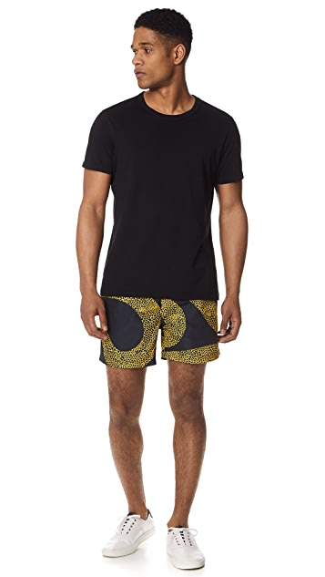 Double Rainbouu Amnesia Swim Shorts