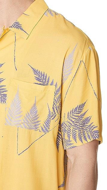 Double Rainbouu Gold Class Hawaiian Shirt