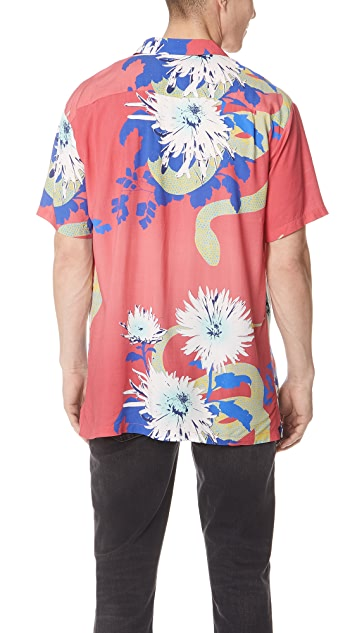 Double Rainbouu Daisy Cutter Hawaiian Shirt