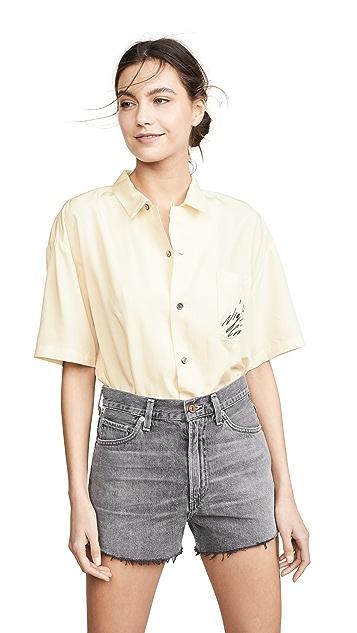 Double Rainbouu Short Sleeve Hawaiian Shirt