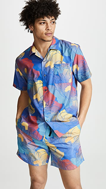 Double Rainbouu Hawaiian Fast Paradise Shirt