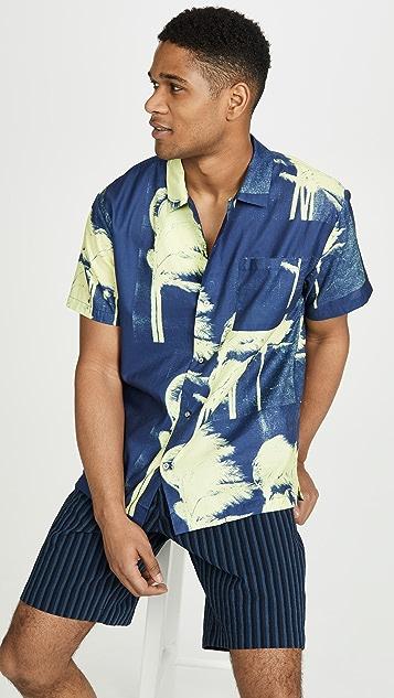 Double Rainbouu Windy Nice Short Sleeve Hawaiian Shirt