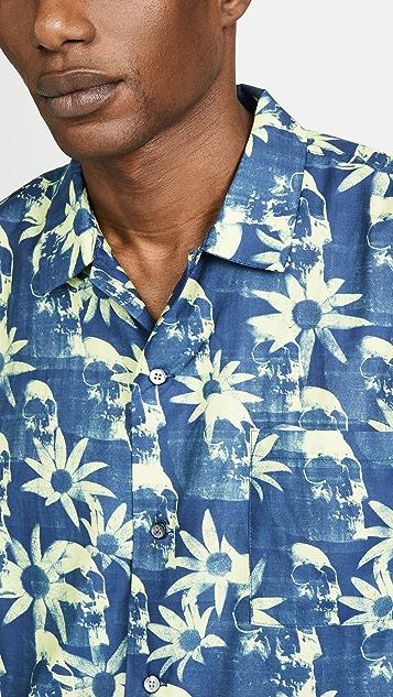 Double Rainbouu Paradise City Short Sleeve Hawaiian Shirt