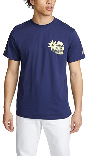 Double Rainbouu Aloha Lord Short Sleeve Ice Tee