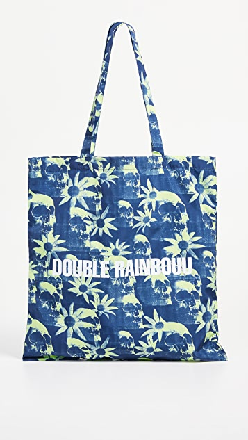Double Rainbouu Paradise City Tote Bag