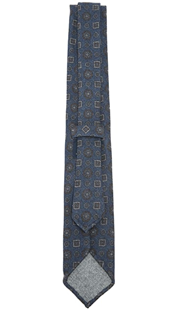 Drake's Dot & Square Tie