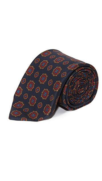 Drake's Patterned Tie