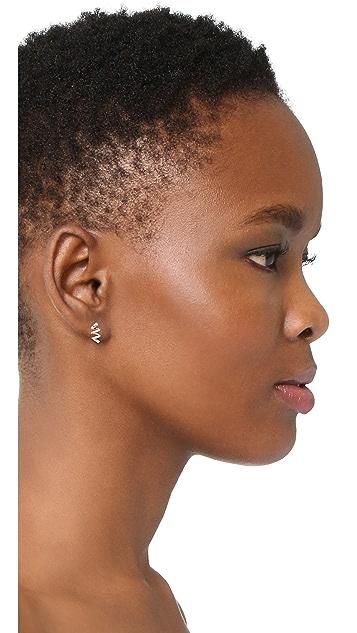 Dana Rebecca 14k White Gold Carly Brooke Earrings