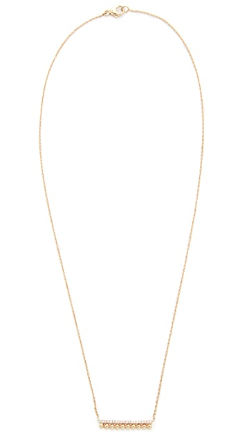 Dana Rebecca Poppy Rae Bar Necklace