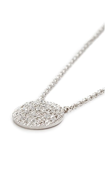 Dana Rebecca 14k White Gold Lauren Medium Joy Necklace