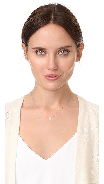 Dana Rebecca 14k Rose Gold Lauren Joy Mini Necklace