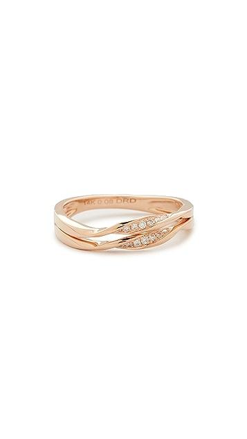 Dana Rebecca Carly Beth Double Twist Ring