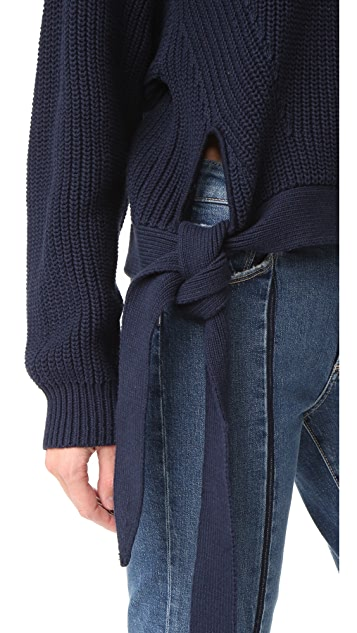 Designers Remix Gabriela Tie Pullover