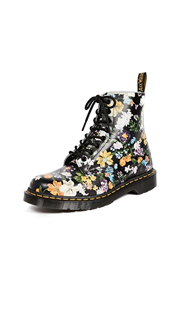 Dr. Martens Darcy Floral Pascal 8 Eye Boots