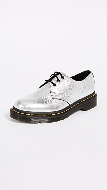 Dr. Martens 1461 Met 3 Eye Shoes ...