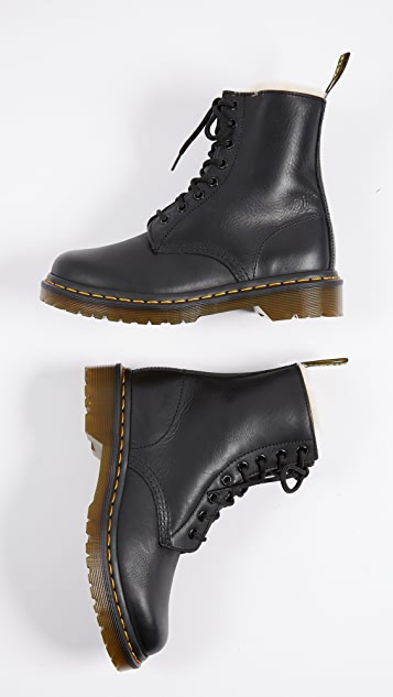 Dr. Martens Serena 8 Eye Sherpa Boots