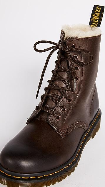Dr. Martens Serena 8 Eye Sherpa Boots