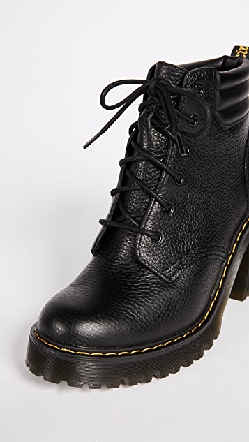 Dr. Martens Persephone 6 Eye Padded Collar Boots
