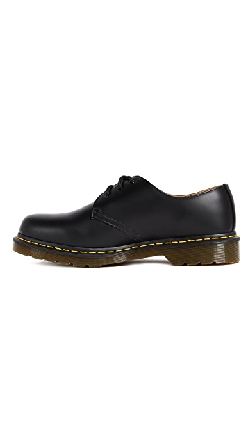 Dr. Martens 1461 3 Eye Gibson Lace Up Oxfords