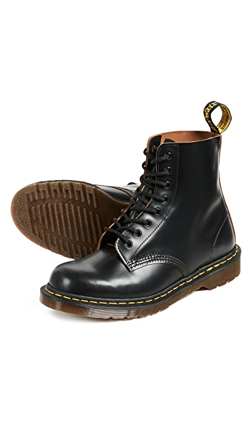 Dr. Martens Made in England 1460 8 Eye Boots