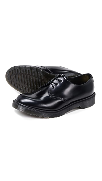 Dr. Martens Made in England Classic 1461 3 Eye Shoes