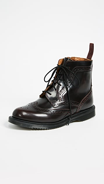 Dr. Martens Delphine 8 Eye Brogue Boots