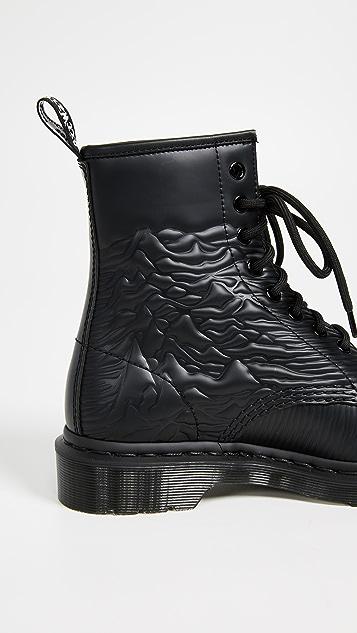 Dr. Martens x Joy Division 1460 Emboss 8 Eye Boots