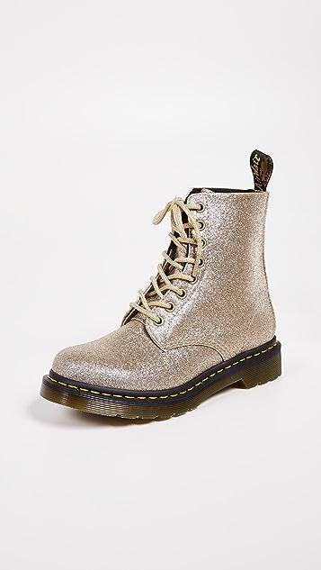 Dr. Martens 1460 Pascal Glitter 8 Eye Boots