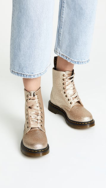 dc7a2430f6dc Dr. Martens 1460 Pascal Glitter 8 Eye Boots | SHOPBOP