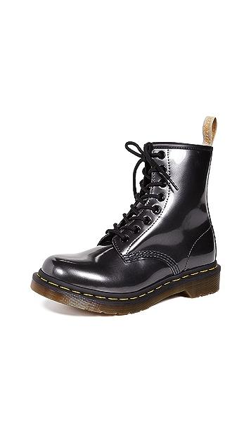 Dr. Martens 1460 Vegan Chrome 8 Eye Boots