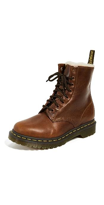 Dr. Martens 1460 Serena 8 Eye Boots - Butterscotch