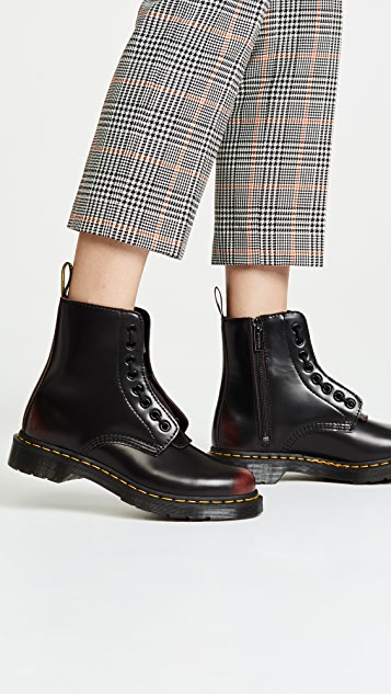 08bf7724a7 Dr. Martens 1460 Pascal Front Zip 8 Eye Boots