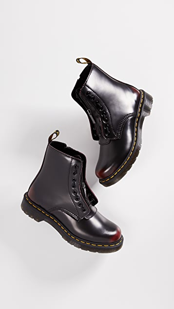 Dr. Martens 1460 Pascal Front Zip 8 Eye Boots