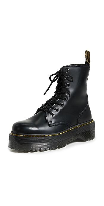 Dr. Martens Jadon 8 Eye Boots - Black
