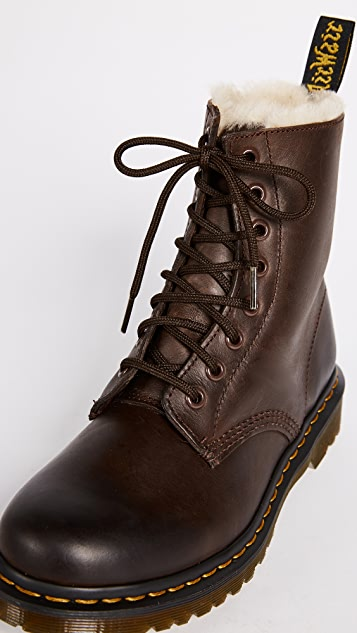 Dr. Martens 1460 Serena 8 Eye Sherpa Boots