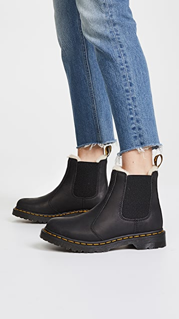 Dr. Martens Leonore Sherpa Chelsea Boots